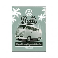 VW Retro Bulli - Magnet