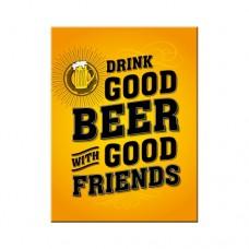 Drink Good Beer - Magnet