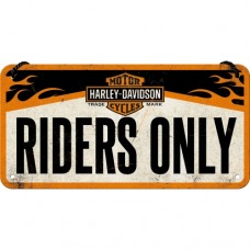 Harley-Davidson - Riders Only - Viseći znak