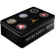 Mercedes - Logo - Tanka kutija sa poklopcem
