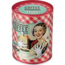 Have A Coffee - Kutija za novac