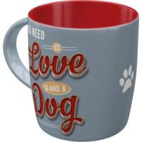 PfotenSchild - Love Dog - šolja